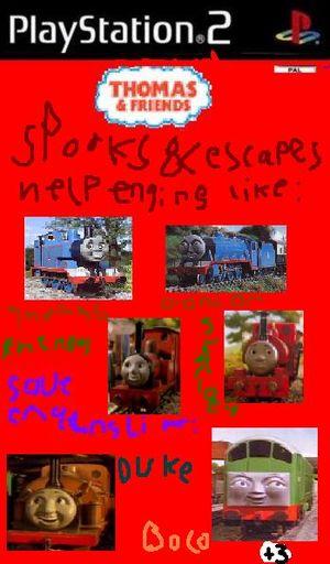 FanFic:Thomas Video Games - Trains