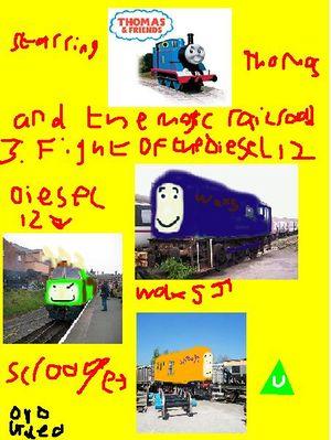FanFic:Potential Plotlines (Thomas & Friends) - Trains