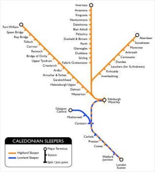 Caledonian Sleeper Trains